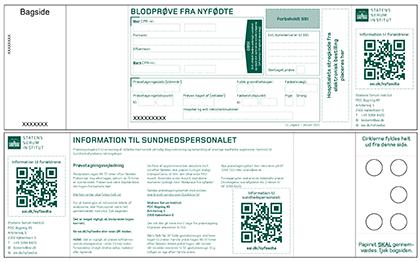 Billeder af det nye PKU-kort